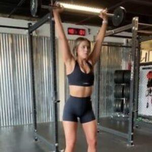 Whitney Simmons X Gymshark Shorts Black (small)